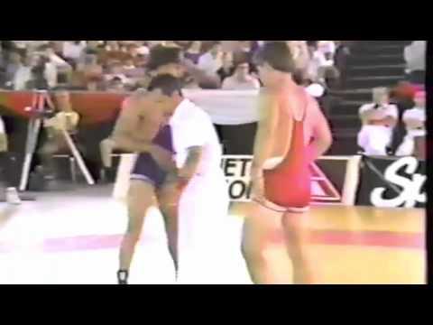 1986 Canada Cup: 68 kg Final Peter Yozzo (USA) vs. Gerard Santoro (FRA)