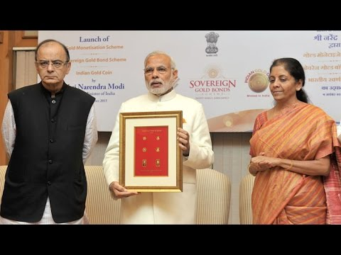 PM Modi launches India's first ever gold coin, 2 other gold schemes : NewspointTV
