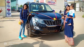 Taking delivery XUV500🔥2018| W11 model |black|
