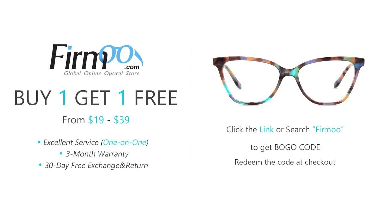 38ad56aa29 Affordable Quality RX Glasses -- BOGO -- Firmoo.com - YouTube