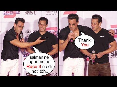 Bobby Deol Breaks Down Thanking Salman Khan For Saving His Career At Race 3 Trailer Launch