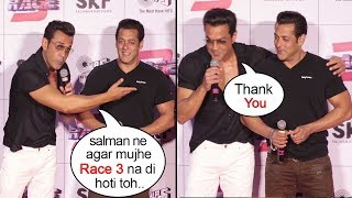 Bobby Deol Breaks Down Thanking Salman Khan For Saving His Career At Race 3 Trailer Launch