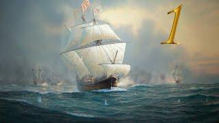 Empire Total War, Пираты №1 - Захват Британского Флагмана.