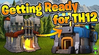 GETTING READY FOR TH12! - Queen Walk Miners WRECK at TH11! - Clash of Clans