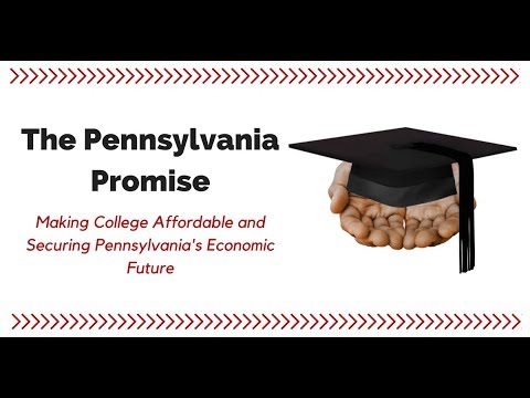 WEBINAR: The Pennsylvania Promise -- Making College Affordable & Securing PA's Economic Future