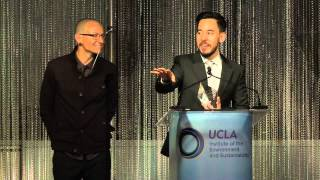 Evening of Environmental Excellence Speech & Performance - Linkin Park