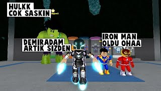 36 IN SUPERHEROISM. DAY IRON MAN JOINEd THE WAR / Roblox English / MadCity Roleplay