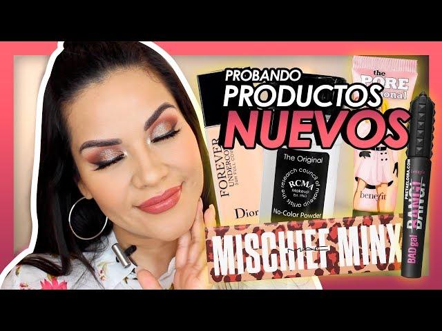 Probando lo NUEVO!  , Maquillaje completo | Mytzi Cervantes