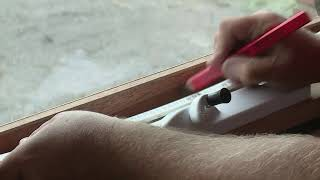 How To Install Window Awning Winders - DIY At Bunnings