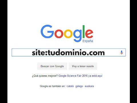 Saber qué tiene indexado Google de nuestra Web