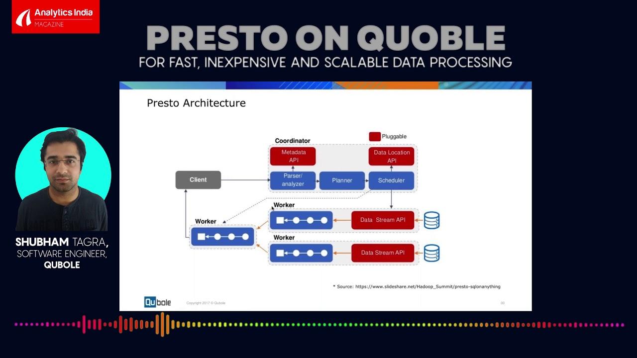 Webinar Alert: Presto on Qubole - for Fast, Inexpensive, and