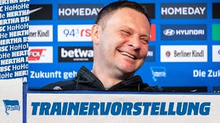 Re-Live: Trainervorstellung Pál Dárdai | Bundesliga | Hertha BSC