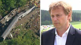'Absolutely horrendous', Transport Secretary visits site of Stonehaven train derailment