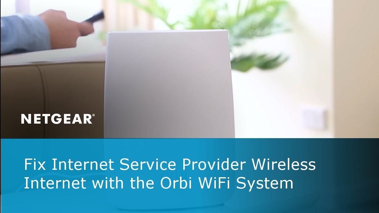Improve your Wireless Speeds with NETGEAR Orbi WiFi System