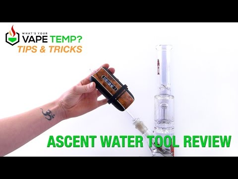 Tips & Tricks – Water Tool Accessories For Davinci Ascent Vaporizers