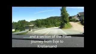 Evje Og Hornnes June 26, 2012  Rafting and drive