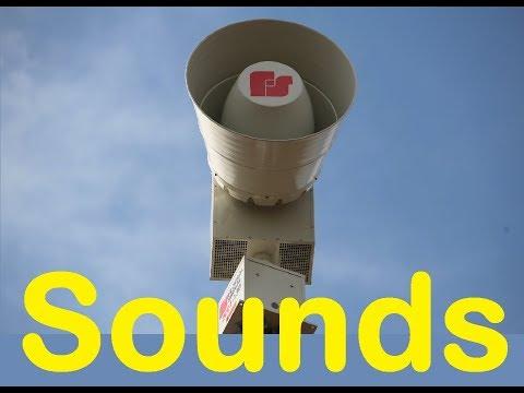 Tornado Siren Sound Effects All Sounds