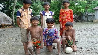 KIDS IN FOOTBALL ● FUNNY FAILS, SKILLS, GOOALS, VILLAGE CHILDREN