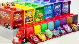 Learning Color Disney Cars Lightning McQueen Mack Truck for kids car toys