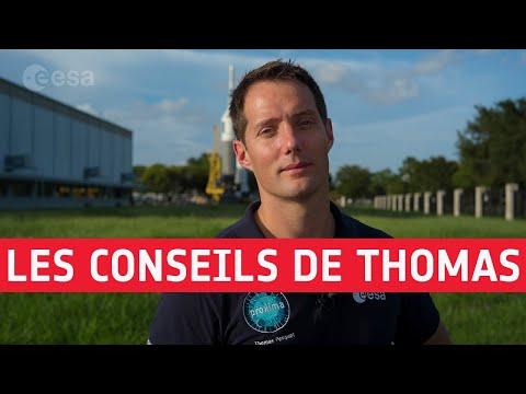 Sélection des astronautes: les conseils de Thomas
