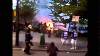 Vancouver Riot Video: Destruction After Boston Bruins Win Stanley Cup
