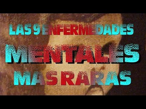 LAS 9 ENFERMEDADES MENTALES MÁS RARAS