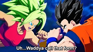 ALL Kefla Vs Gohan, Goku, Vegeta, & Trunks Special Quotes - Dragon Ball FighterZ DLC Unique Dialogue