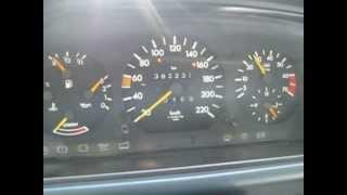Mercedes w124 200E m102 1989г