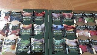 Обзор чайной коробки  Greenfield  //  Какой чай лучше ??