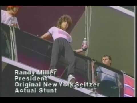 Original New York Seltzer Jump Commercial 80s
