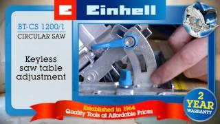 Einhell Blue 1200w Circular Saw (BT-CS 1200)