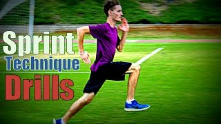 Sprint Technique Drills 🏃- How to get Faster