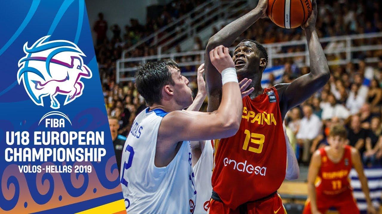 Greece v Spain - Highlights - Semi-Final