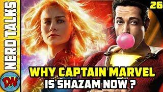 Why Captain Marvel is Shazam Now ? | Nerd Talks Ep 26