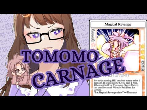 The raw SMUG energy of Sweet Eater Tomomo [100% Orange Juice] |