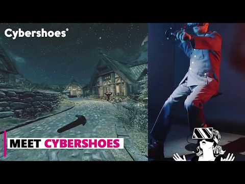 Cybershoes® - your first VR shoes