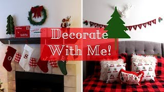 Clean and Decorate with Me! Christmas Decor for Entire House!