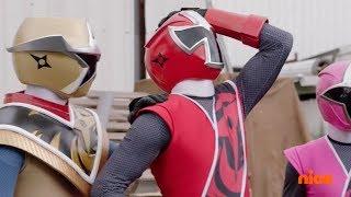 "Power Rangers Super Ninja Steel - Power Rangers and Emma vs Typeface | Episode 15 ""Tech Support"""