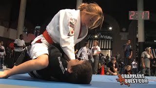 Girl vs. Boy SUBMISSION - Bianca LeBosnoyani vs Anthony Garcia Grapplers Quest Las Vegas 2011