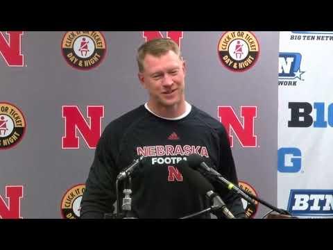 Scott Frost after Nebraska's loss to Northwestern