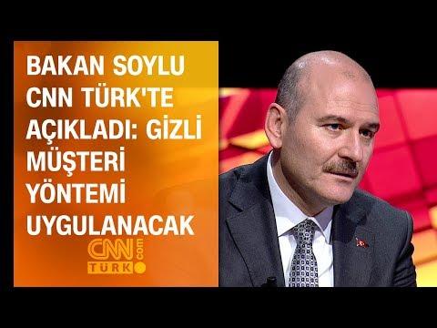 Bakan Soylu CNN TÜRK'te açıkladı:...