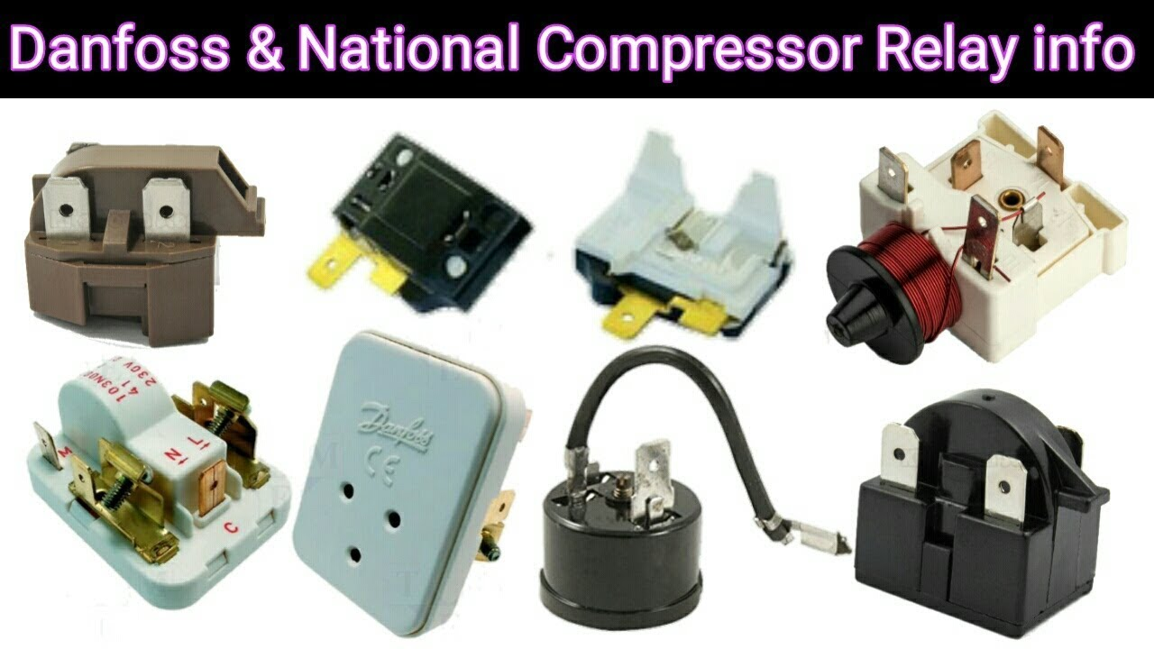 Danfoss & National Compressor all type Relay check urdu/hindi