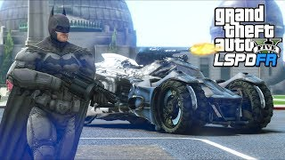 Batman joins LSPD to fight crime!! (GTA 5 Mods - LSPDFR Gameplay)