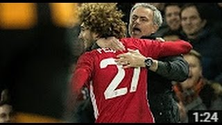 MANCHESTER UNITED VS HULL CITY 2-0 Fellaini GOAL10-1-2017 HD