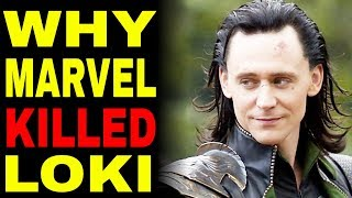 Here\'s Why Loki NEEDED To Die In Avengers Infinity War
