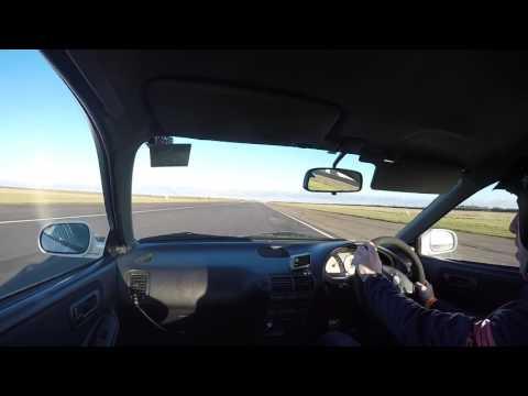 Honda Integra DC2 at Bedford Autodrome. 4/2/2017