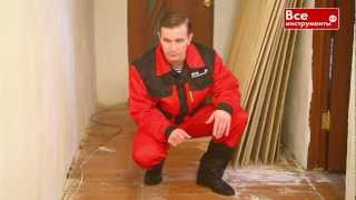 видео Демонтаж старого деревянного пола своими руками