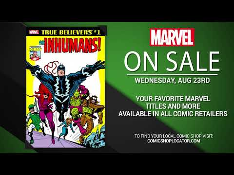 Marvel NOW! Titles for August 23rd