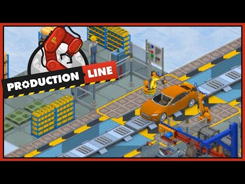 Car Factory Management! - Production Line Alpha - Ep 1 [Let's Production Line Gameplay]