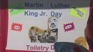 Giving back on MLK Day to help Vets